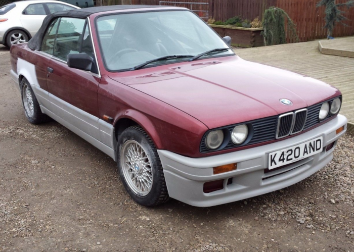 BMW E30 M-Tech 2 Style 3 Series Cabriolet Body Kit
