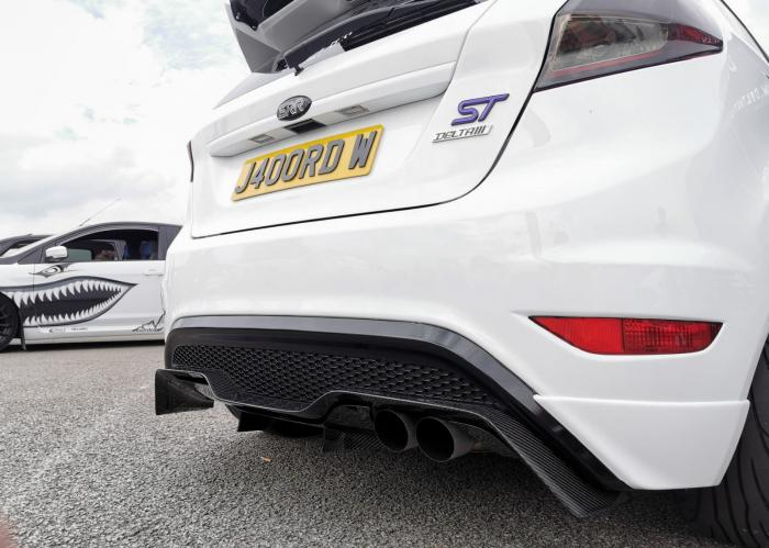 Ford Fiesta Mk7.5 ST Delta S-RR50 Twin Rear Diffuser - Limited Edition