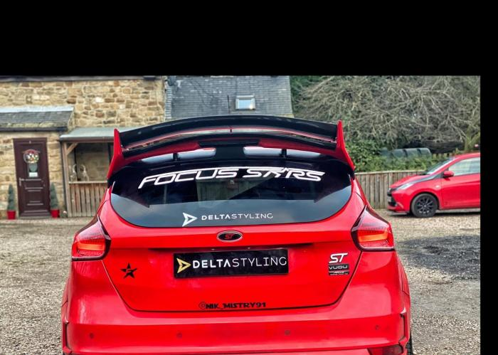 Ford Focus Mk3/3.5 Delta S-R Spoiler Riser for the Delta Spoiler 3