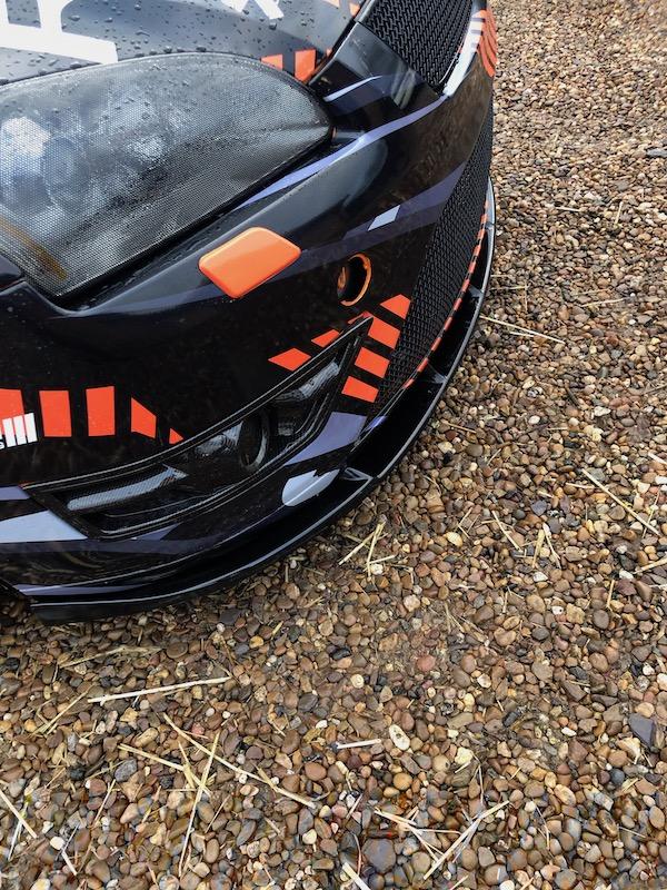 Ford Focus Mk2 ST Delta S-R Front Splitter