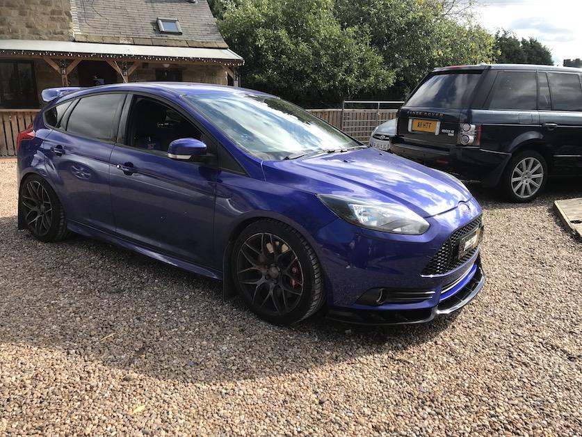 Custom Focus St >> Ford Focus Mk3 Pre Facelift St Delta S R Front Splitter