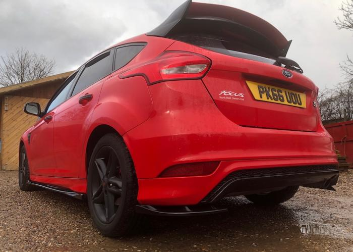 Show Low Ford >> Ford Focus Mk3.5 Zetec S/ST-Line Delta S Rear Spats