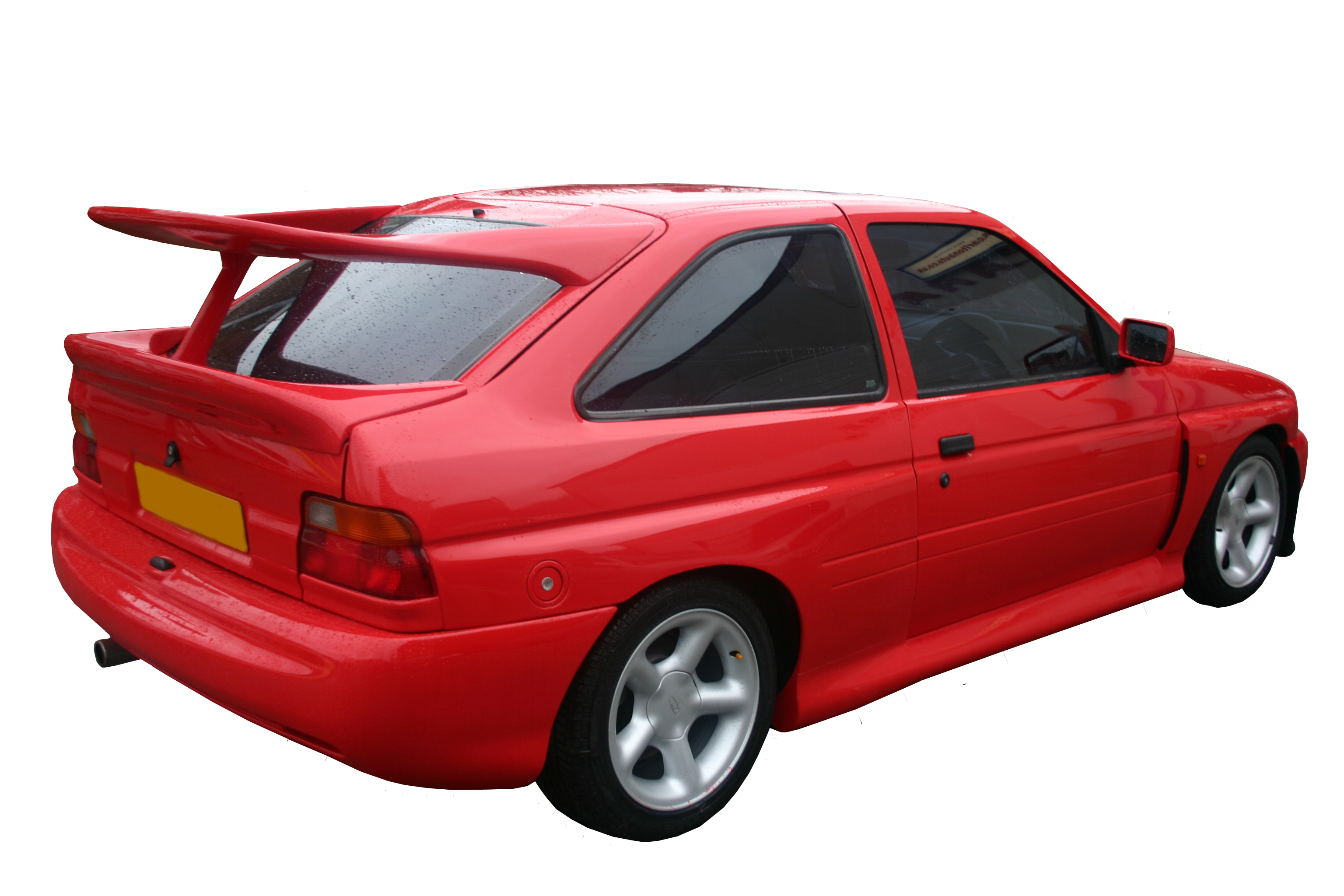 ford escort cosworth upper spoiler 1990 2000