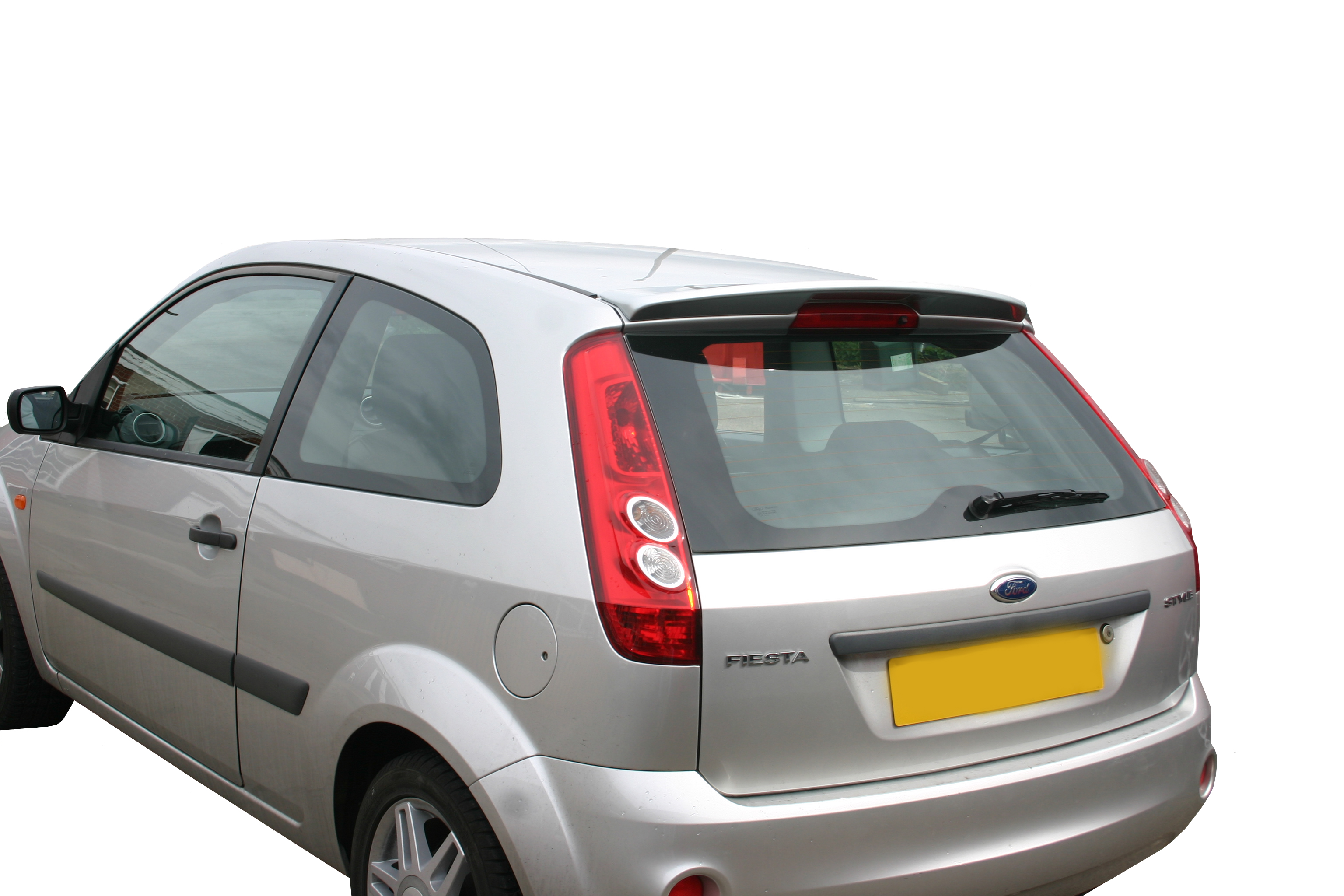 ford fiesta mk6 boot spoiler. Black Bedroom Furniture Sets. Home Design Ideas