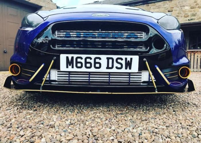 Ford Fiesta Mk7.5 ST Delta S-RR Performance Grille 3