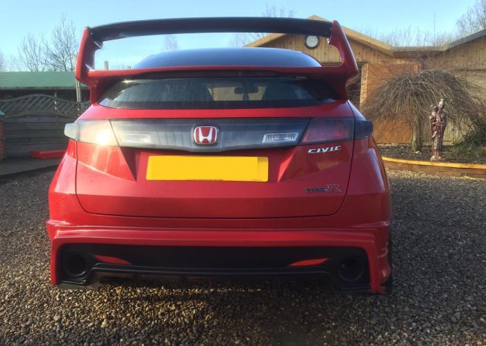 New Honda Civic >> Honda Civic FK/FN Mugen Rear Valance/Splitter/Lip