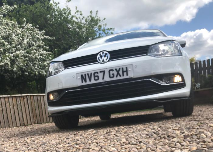 VW Polo Delta SL Front Splitter - NEW! 10