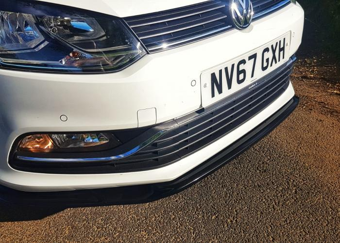 VW Polo Delta SL Front Splitter - NEW! 4