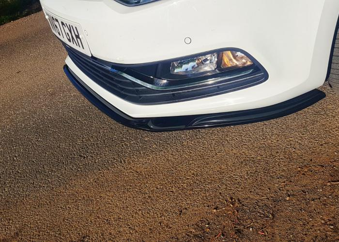 VW Polo Delta SL Front Splitter - NEW! 3
